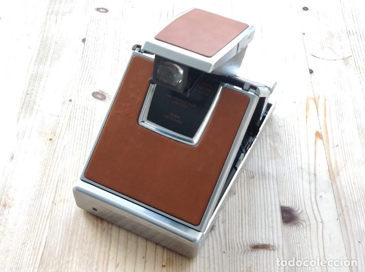Cámara de fotos: Cámara instantánea marca Polaroid, modelo SX-70 - Foto 8 - 193997996