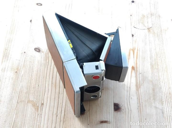 Cámara de fotos: Cámara instantánea marca Polaroid, modelo SX-70 - Foto 9 - 193997996