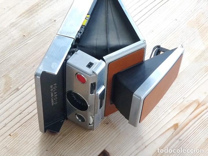 Cámara de fotos: Cámara instantánea marca Polaroid, modelo SX-70 - Foto 10 - 193997996