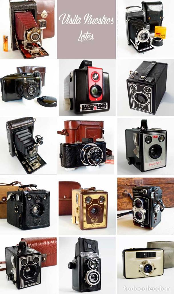 Cámara de fotos: EXCELENTE CÁMARA AGFA SYNCHRO ALEMANIA 1951. FUNCIONANDO - Foto 9 - 194077532