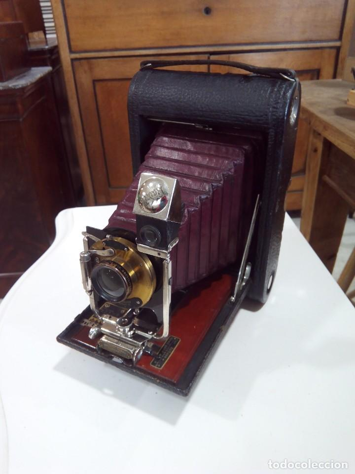 Cámara de fotos: Nº4 FOLDING POCKET KODAK+FUNDA ORIGINAL - Foto 4 - 194125870