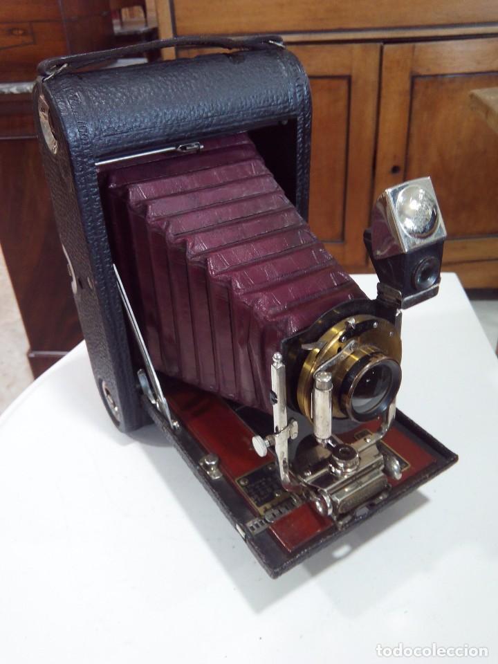 Cámara de fotos: Nº4 FOLDING POCKET KODAK+FUNDA ORIGINAL - Foto 8 - 194125870