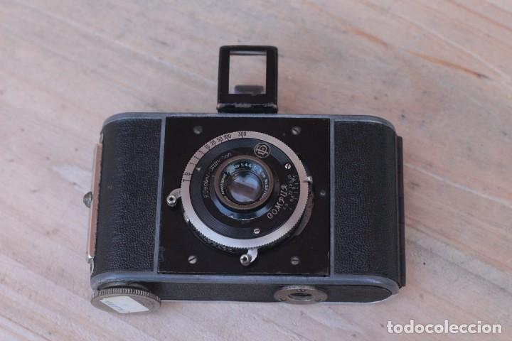 Cámara de fotos: STEINHEIL.Kleinfilm Kamera.Rarísima.1928 - Foto 2 - 194219600