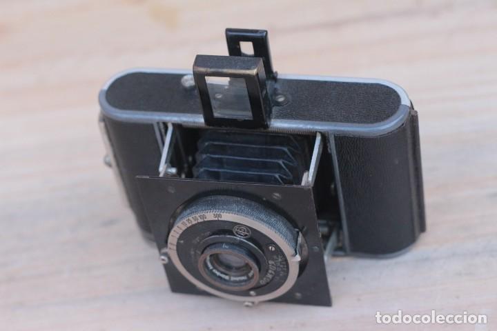 Cámara de fotos: STEINHEIL.Kleinfilm Kamera.Rarísima.1928 - Foto 3 - 194219600