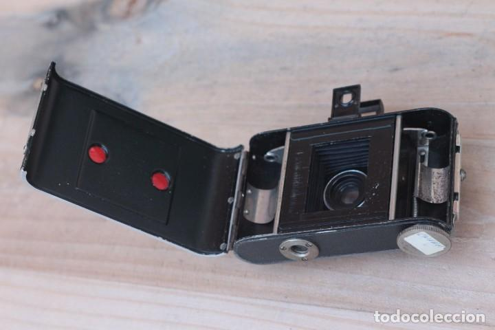 Cámara de fotos: STEINHEIL.Kleinfilm Kamera.Rarísima.1928 - Foto 7 - 194219600
