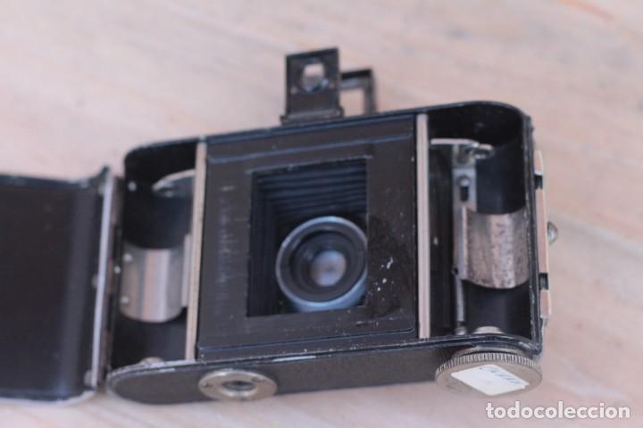 Cámara de fotos: STEINHEIL.Kleinfilm Kamera.Rarísima.1928 - Foto 8 - 194219600