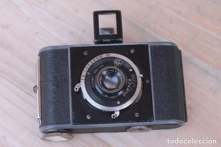 Cámara de fotos: STEINHEIL.Kleinfilm Kamera.Rarísima.1928 - Foto 10 - 194219600