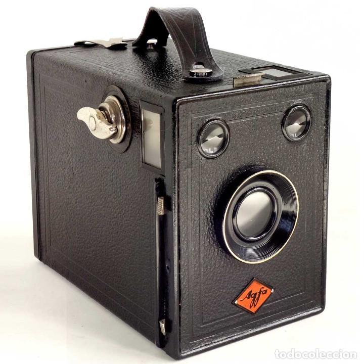 ÚNICA EN TC. CÁMARA AGFA BOX 54. LA PRIMERA BOX DE AGFA EN ALEMANIA 1930. FUNCIONANDO (Cámaras Fotográficas - Antiguas (hasta 1950))