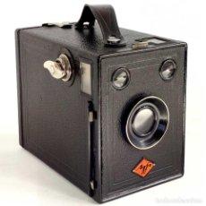 Cámara de fotos: ÚNICA EN TC. CÁMARA AGFA BOX 54. LA PRIMERA BOX DE AGFA EN ALEMANIA 1930. FUNCIONANDO. Lote 194222823