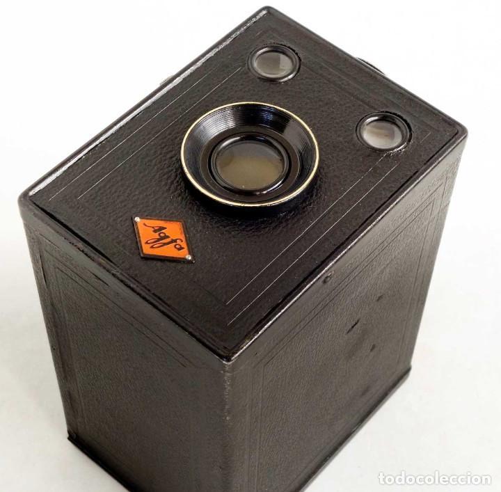Cámara de fotos: ÚNICA EN TC. CÁMARA AGFA BOX 54. LA PRIMERA BOX DE AGFA EN ALEMANIA 1930. FUNCIONANDO - Foto 3 - 194222823