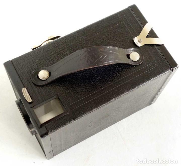 Cámara de fotos: ÚNICA EN TC. CÁMARA AGFA BOX 54. LA PRIMERA BOX DE AGFA EN ALEMANIA 1930. FUNCIONANDO - Foto 4 - 194222823