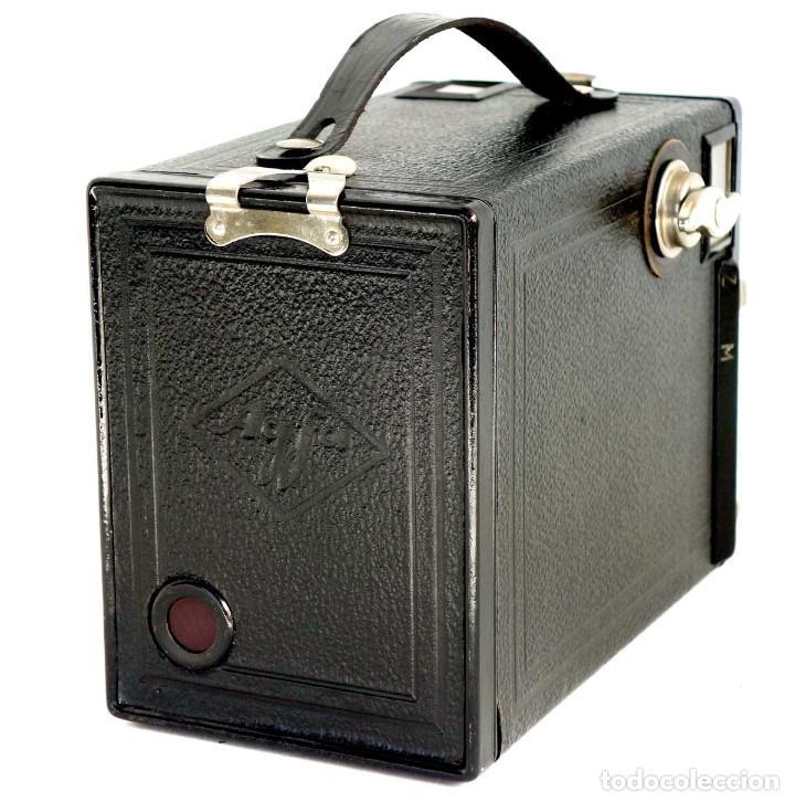 Cámara de fotos: ÚNICA EN TC. CÁMARA AGFA BOX 54. LA PRIMERA BOX DE AGFA EN ALEMANIA 1930. FUNCIONANDO - Foto 5 - 194222823