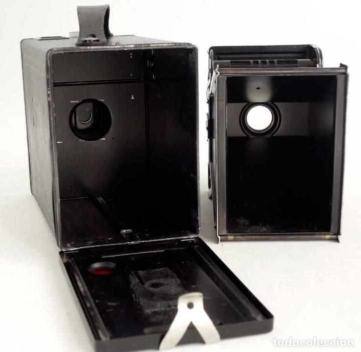Cámara de fotos: ÚNICA EN TC. CÁMARA AGFA BOX 54. LA PRIMERA BOX DE AGFA EN ALEMANIA 1930. FUNCIONANDO - Foto 6 - 194222823