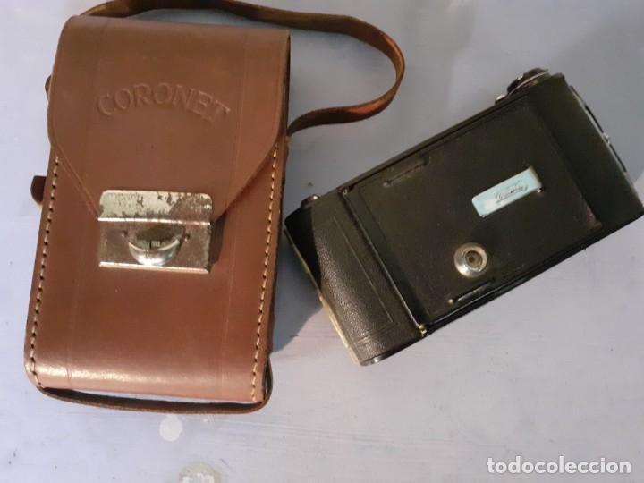 Cámara de fotos: Camara Coronet fuelle con funda - Foto 2 - 194239843