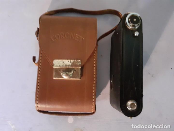 Cámara de fotos: Camara Coronet fuelle con funda - Foto 9 - 194239843
