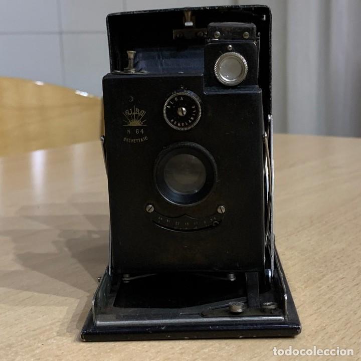 Cámara de fotos: ALBA 64 AÑO 1914 FABRICADA EN ITALIA - Foto 3 - 194265386