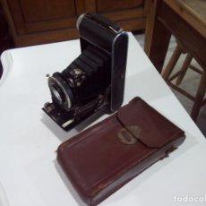 Cámara de fotos: CÁMARA DE FOTOS FUELLE HERLANGA+FUNDA. Lote 194312437