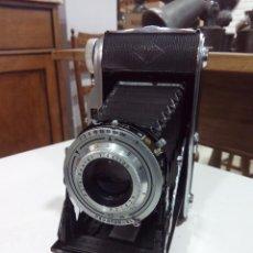 Cámara de fotos: CÁMARA DE FOTOS FUELLE AGFA RECORD III. Lote 194318287