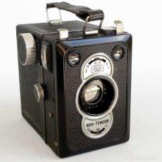 Cámara de fotos: CÁMARA ZEISS IKON BOX TENGOR 55/2. ALEMANIA 1938. FUNCIONANDO. Lote 194644885