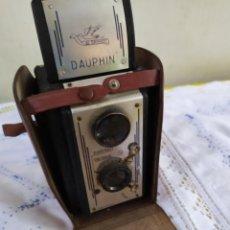 Cámara de fotos: ESPECTACULAR CÁMARA DE FOTOS DAUPHIN. Lote 194650107