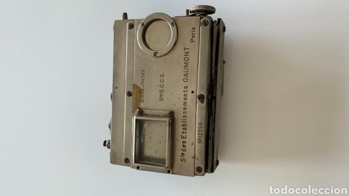 Cámara de fotos: Camara Block notes 4,5x6 Gaumont 1903 - Foto 2 - 194770677