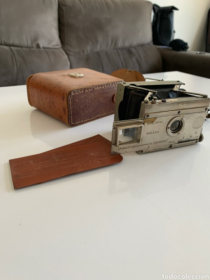 Cámara de fotos: Camara Block notes 4,5x6 Gaumont 1903 - Foto 4 - 194770677