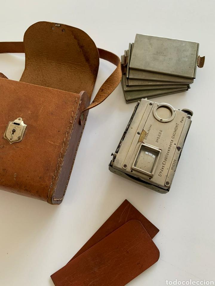 Cámara de fotos: Camara Block notes 4,5x6 Gaumont 1903 - Foto 5 - 194770677