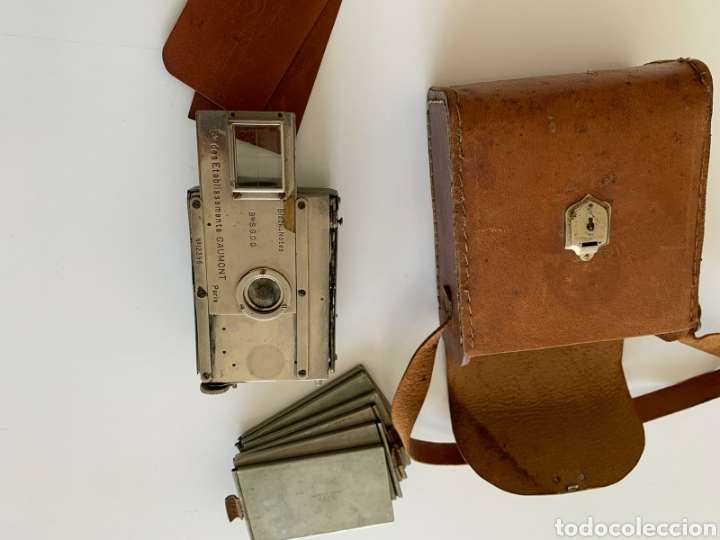 Cámara de fotos: Camara Block notes 4,5x6 Gaumont 1903 - Foto 6 - 194770677