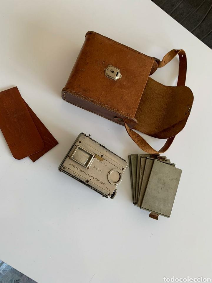 Cámara de fotos: Camara Block notes 4,5x6 Gaumont 1903 - Foto 7 - 194770677