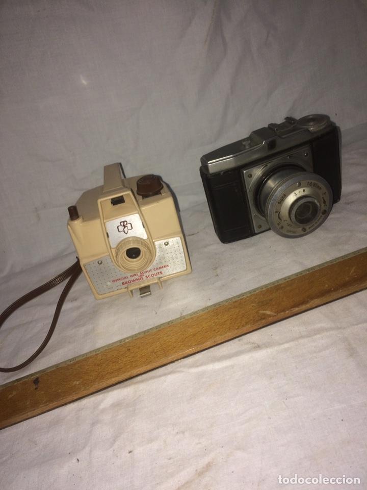LOTE DOS CAMARAS DE FOTOS ANTIGUAS! (Cámaras Fotográficas - Antiguas (hasta 1950))