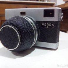 Cámara de fotos: CÁMARA DE FOTOS WERRA 3, OBJETIVO+FUNDA ORIGINAL. Lote 195032247