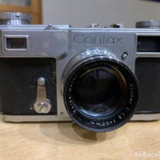 Cámara de fotos: CONTAX. Lote 195353933
