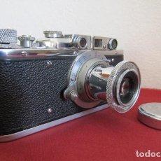 Cámara de fotos: FED SOVIÉTICA COPIA DE LA CÁMARA DE FOTOS LEICA ALEMANA EJERCITO II GUERRA MUNDIAL III REICH ALEMÁN. Lote 195496931