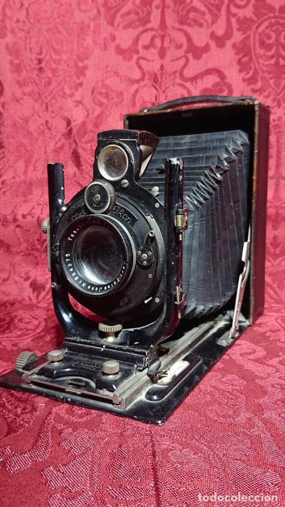 Cámara de fotos: CAMARA FOTOGRAFICA DE FUELLE ALEMANA ZEISS IKON MAXIMAR 207/9 LENTE CARL ZEISS JENA - Foto 4 - 197131847