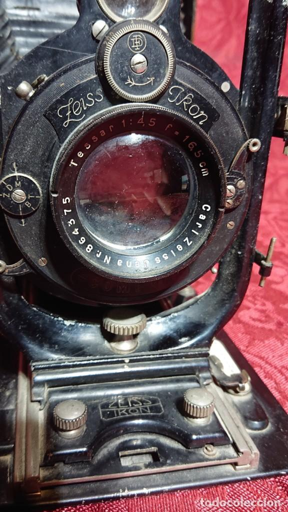 Cámara de fotos: CAMARA FOTOGRAFICA DE FUELLE ALEMANA ZEISS IKON MAXIMAR 207/9 LENTE CARL ZEISS JENA - Foto 10 - 197131847
