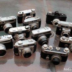 Cámara de fotos: LOTE DE NUEVE CLÁSICAS TELEMÉTRICAS.. Lote 197685727