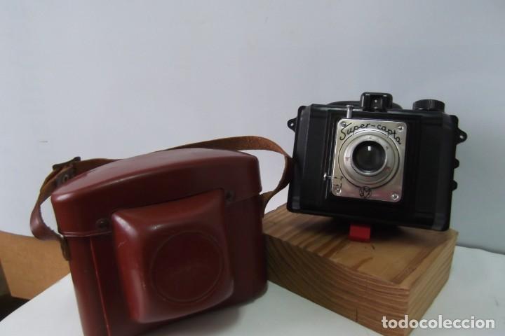 # CAMARA FOTOS, SUPER - CAPTA # 1ª MITAD S. XX # (Cámaras Fotográficas - Antiguas (hasta 1950))