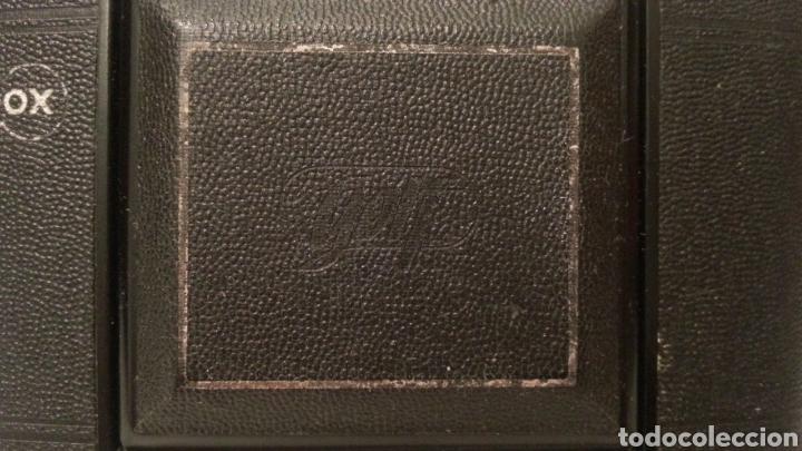 Cámara de fotos: ANTIGUA CAMARA FOTOGRAFICA DE FUELLE ADOX VARIO GOLF DE 1950. - Foto 2 - 198348858