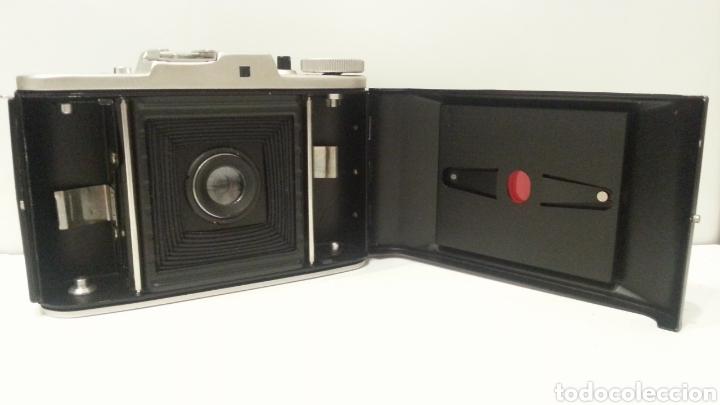 Cámara de fotos: ANTIGUA CAMARA FOTOGRAFICA DE FUELLE ADOX VARIO GOLF DE 1950. - Foto 4 - 198348858