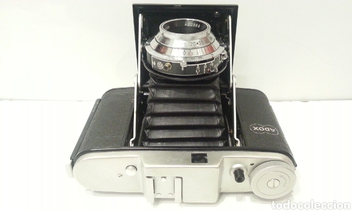 Cámara de fotos: ANTIGUA CAMARA FOTOGRAFICA DE FUELLE ADOX VARIO GOLF DE 1950. - Foto 6 - 198348858