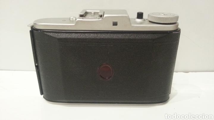Cámara de fotos: ANTIGUA CAMARA FOTOGRAFICA DE FUELLE ADOX VARIO GOLF DE 1950. - Foto 8 - 198348858