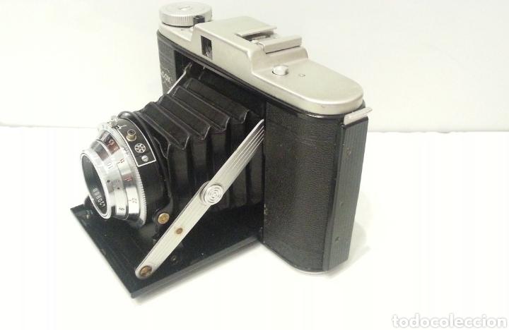 Cámara de fotos: ANTIGUA CAMARA FOTOGRAFICA DE FUELLE ADOX VARIO GOLF DE 1950. - Foto 9 - 198348858