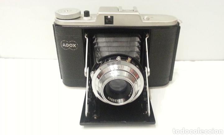 Cámara de fotos: ANTIGUA CAMARA FOTOGRAFICA DE FUELLE ADOX VARIO GOLF DE 1950. - Foto 10 - 198348858