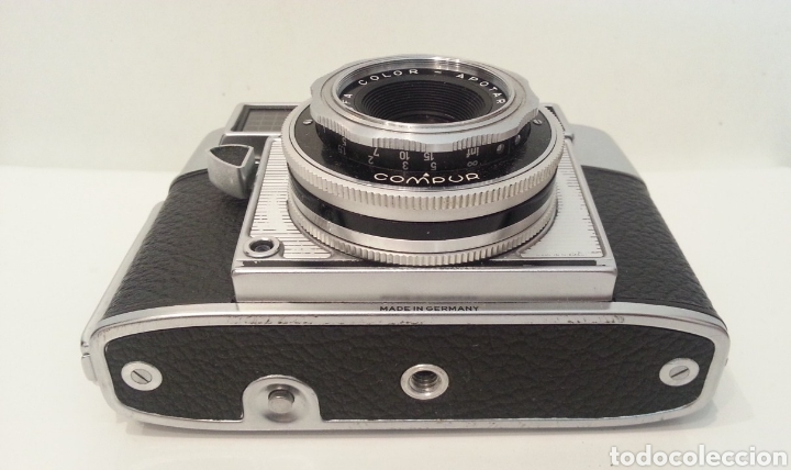 Cámara de fotos: ANTIGUA AGFA OPTIMA IIIS III S DE 1960. CON FUNDA ORIGINAL - Foto 12 - 198374158