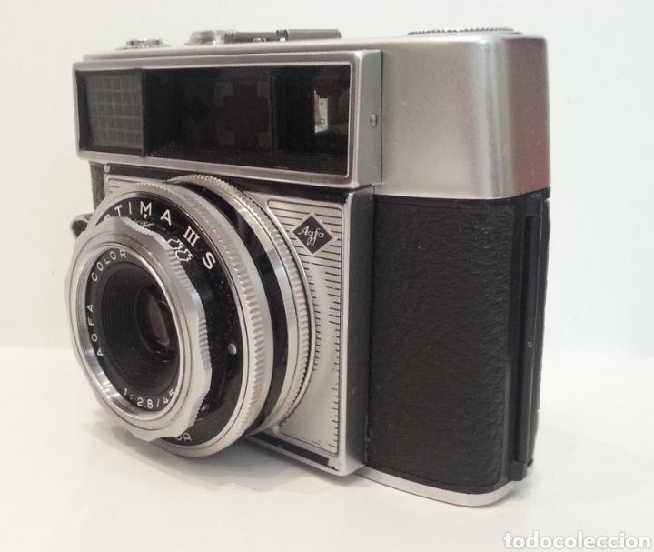 Cámara de fotos: ANTIGUA AGFA OPTIMA IIIS III S DE 1960. CON FUNDA ORIGINAL - Foto 20 - 198374158