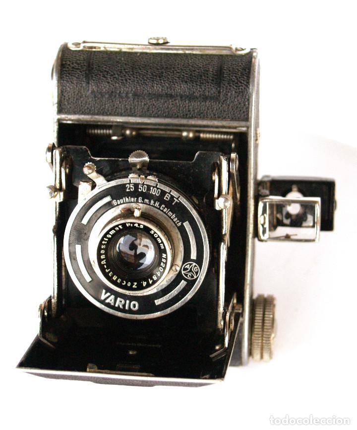 Cámara de fotos: *c1932* • Zeca (Zeh Camera Fabrik) GOLDI Obj. Zecanar f4.5 • RARA y pequeña folding 3x4 - Foto 2 - 198752143