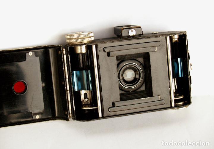 Cámara de fotos: *c1932* • Zeca (Zeh Camera Fabrik) GOLDI Obj. Zecanar f4.5 • RARA y pequeña folding 3x4 - Foto 3 - 198752143
