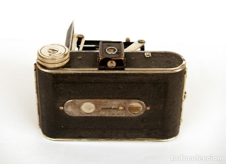 Cámara de fotos: *c1932* • Zeca (Zeh Camera Fabrik) GOLDI Obj. Zecanar f4.5 • RARA y pequeña folding 3x4 - Foto 5 - 198752143