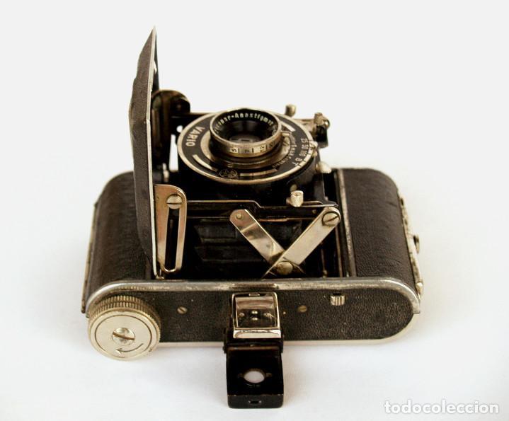 Cámara de fotos: *c1932* • Zeca (Zeh Camera Fabrik) GOLDI Obj. Zecanar f4.5 • RARA y pequeña folding 3x4 - Foto 6 - 198752143