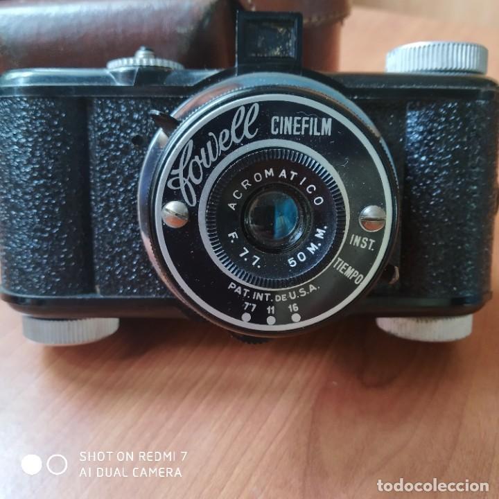 Cámara de fotos: Fowell cinéfilm 1949 con funda - Foto 2 - 200253122